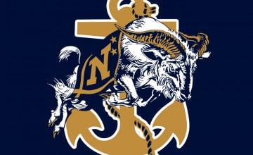 Navy Football Logo Wallpaper