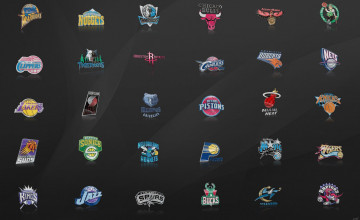 NBA Team Logos Wallpaper