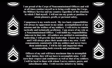 NCO Background