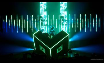 Neon Deadmau5 Wallpaper