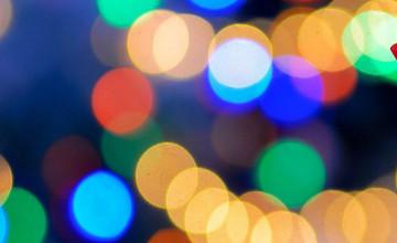 Neon Lights iPhone Wallpaper