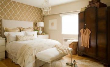Neutral Bedroom Wallpaper