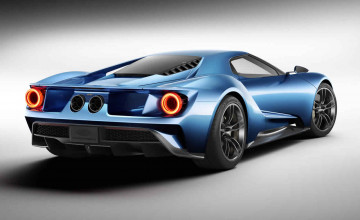 New Ford GT Supercar Wallpapers