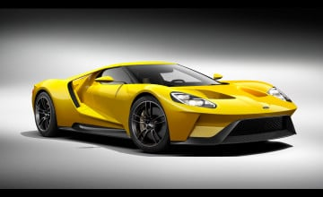 New Ford GT Wallpaper