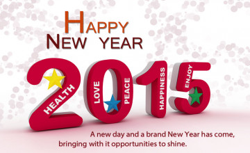 New Happy New Year 2015 Wallpaper