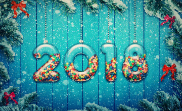 New Year 2018 Decorations Wallpapers