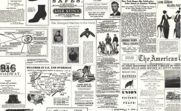Newspaper Print Wallpaper