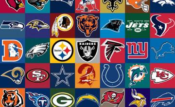 NFL Team Logos Wallpaper