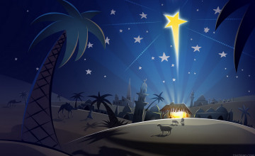 Night Before Christmas Wallpaper