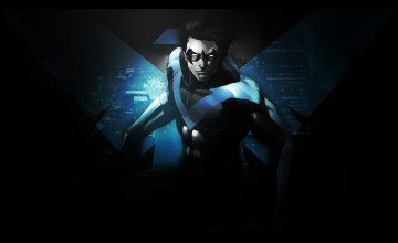 Nightwing Desktop Wallpaper