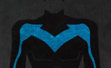 Nightwing iPhone 5 Wallpaper