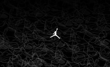 68+] Air Jordan Logo Wallpaper on