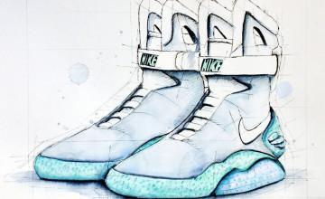 Nike Air Mag Wallpaper on WallpaperSafari