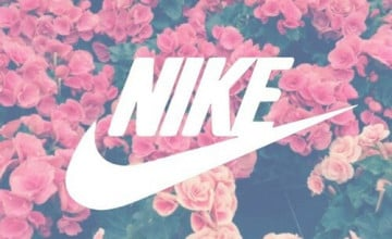 Nike Flower Wallpaper