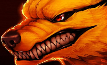 Nine Tailed Fox Wallpaper