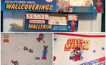 Nintendo Wallpaper Border