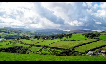 Northern Ireland Countryside Wallpaper