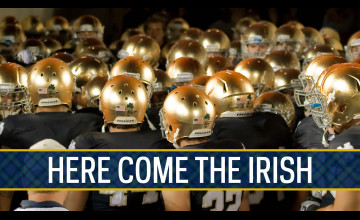 Notre Dame Fighting Irish Wallpaper