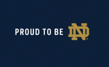 Notre Dame Football iPhone Wallpaper