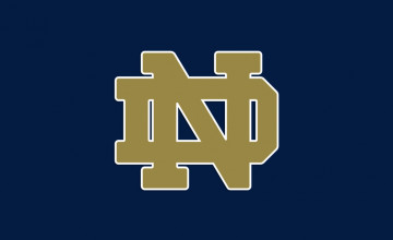 Notre Dame Logo Wallpaper