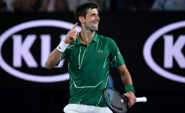 Novak Djokovic Australian Open 2020 Wallpapers