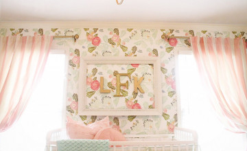 Nursery Wallpaper for Girls