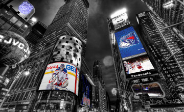 NY Rangers Desktop Wallpaper