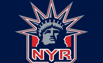 NY Rangers Logo Wallpaper