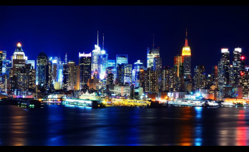 Nyc At Night Wallpaper