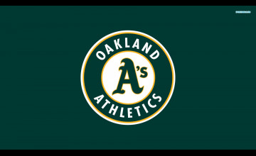 Oakland A\'s iPhone Wallpaper