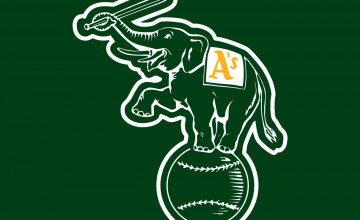 Oakland Athletics Desktop Wallpaper
