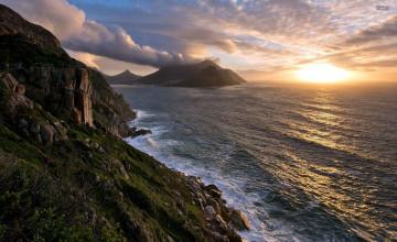 Ocean Cliff Wallpaper