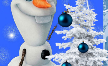 Olaf Christmas Wallpaper