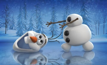 Olaf from Frozen Wallpaper