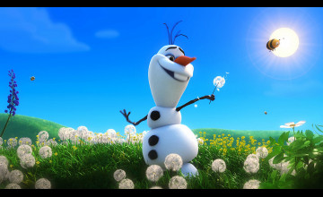 Olaf Summer Wallpaper