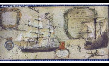 Old World Wallpaper Border