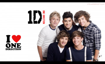 One Direction Laptop Wallpaper