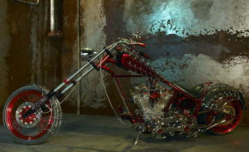Orange County Choppers Black Widow Bike Wallpapers