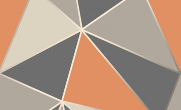 Orange Geometric Wallpapers