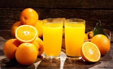 Orange Juice Wallpapers