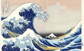 Oriental Print Wallpaper