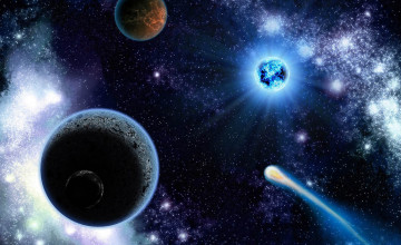 Outer Space Wallpaper Planets