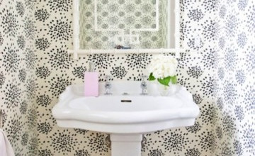 Outhouse Wallpaper for the Bathroom