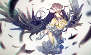 Overlord Anime Albedo Wallpaper