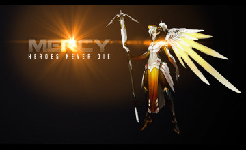 Overwatch Mercy Wallpaper