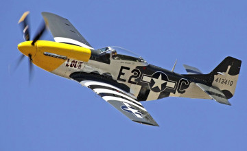 P 51 Mustang Desktop Wallpaper