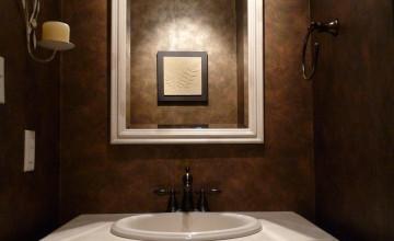 Paint or Wallpaper Bathroom