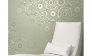 Painting Wallpapered Walls