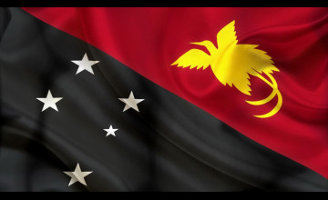 Papua New Guinea Flag Wallpapers