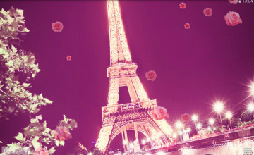 Paris Theme Wallpaper